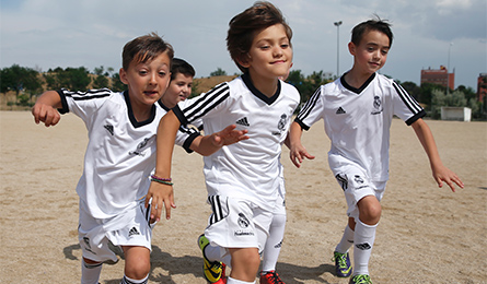 Детский лагерь Real Madrid Foundation Clinic в России!